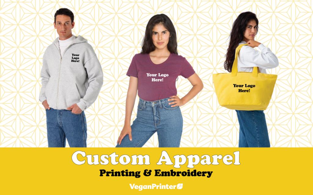 Custom Printed Apparel in 4 Easy Steps!